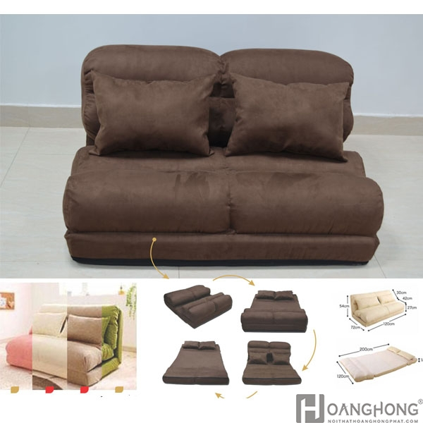 Sofa đa Năng Nhập Khẩu Keo Thanh Giường Hhp003 V2