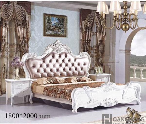 Bộ giường ngủ nhập khẩu Sitme HHP 808 cao cấp (Ảnh 2)