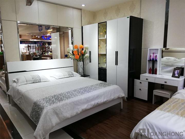 Bộ giường ngủ hiện đại nhập khẩu HHP-BGN918 (Ảnh 2)